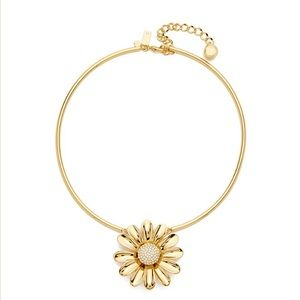 Kate Spade dazzling daisy necklace $98
